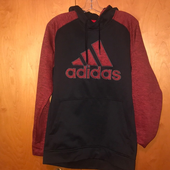 cute cheap hot products get cheap ⚫️Black and Red🔴 Adidas Hoodie.